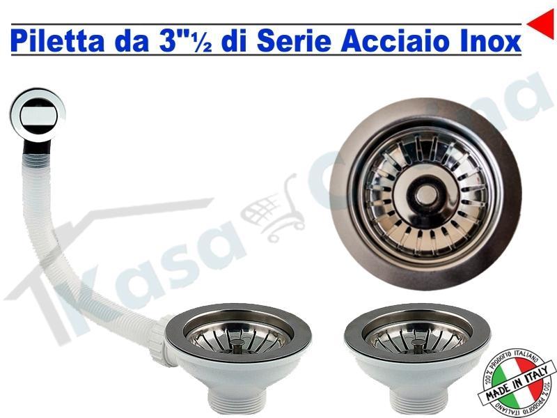Lavello da Incasso Essential cm.116X50 Fragranite Antracite 2 Vasche ...
