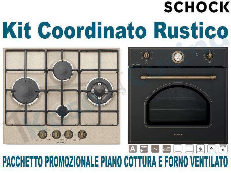 Pacchetto in Offerta Promozionale: Piano Cottura cm.60 • Forno Ventilato
