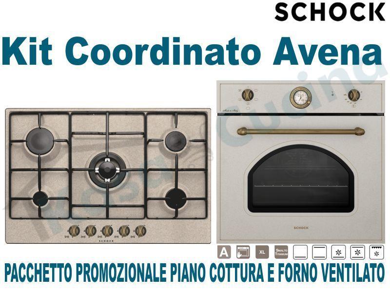 Pacchetto in Offerta Promozionale: Piano Cottura cm.75 • Forno Ventilato