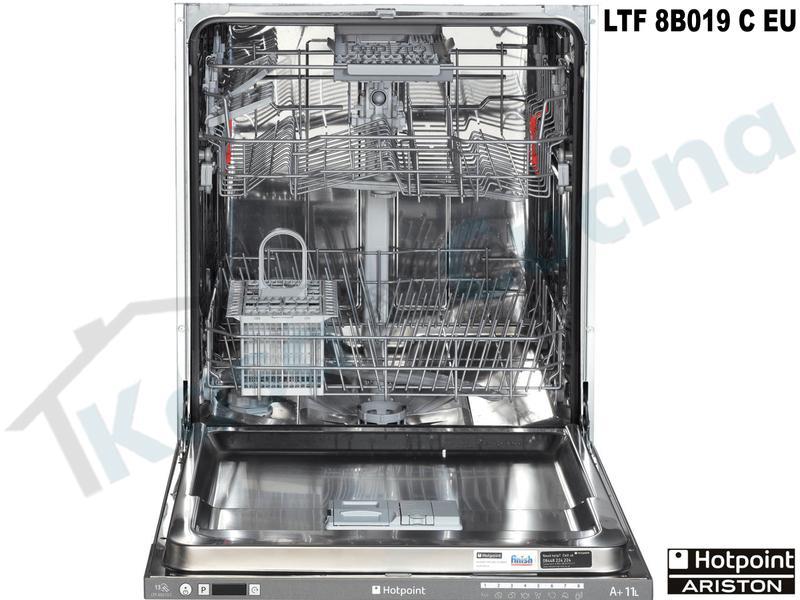 lavastoviglie LTF 8B019 C EU Hotpoint 60 13 coperti 8 programmi Classe A+