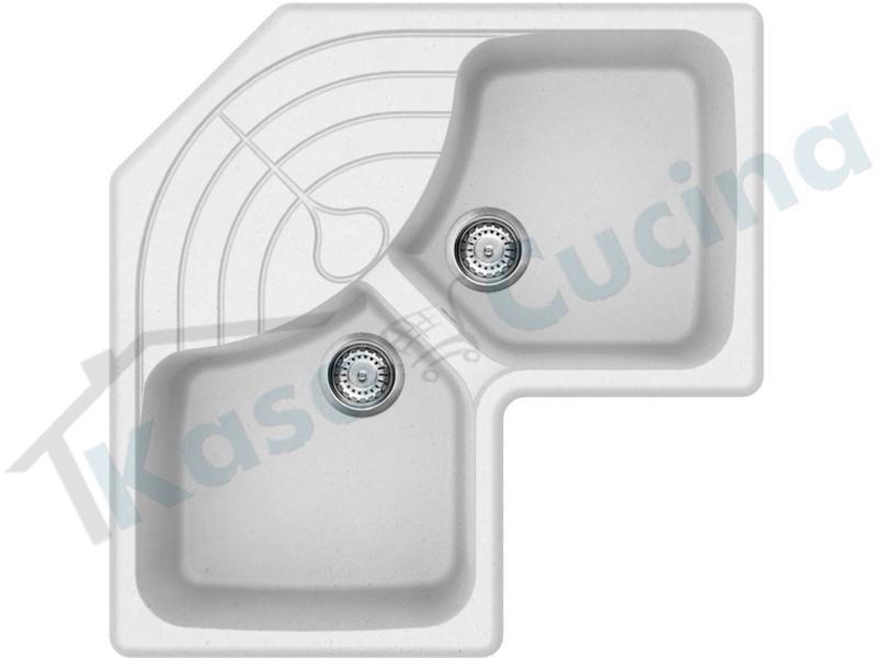 Lavelli Angolari Per Cucina.Lavello Angolare Elleci Master Corner Lgmcor51 83x83