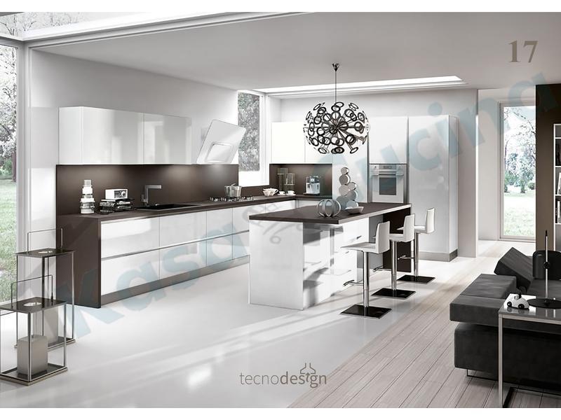 Cappa Cucina Moderna 80 TD016SL Grace Inox-Vetro Silver   Kasa ...