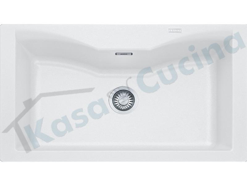 Lavello Cucina Fragranite Bianco.Lavello Da Incasso Acquario Cm 86x50 Fragranite Bianco 1 Vasca