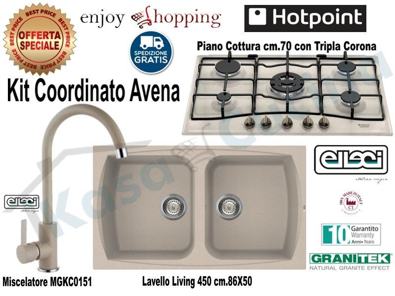 Lavello Cucina 75 Cm.Set Avena Lavello Incasso Cucina Cm 86x50 2 Vasche Lgl45051