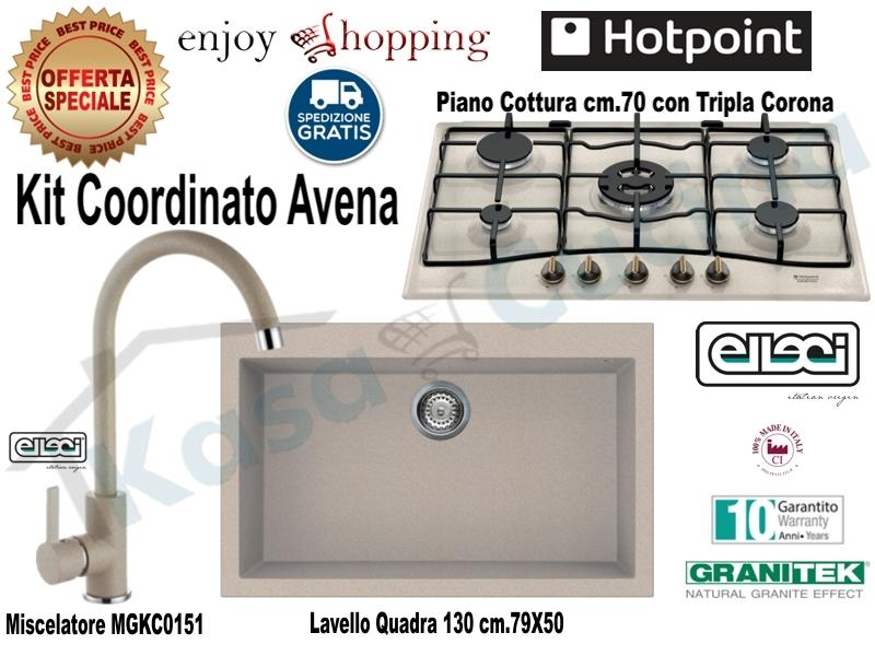 Lavello Cucina 75 Cm.Set Avena Lavello Incasso Cucina Cm 76x50 Monovasca Lgq13051