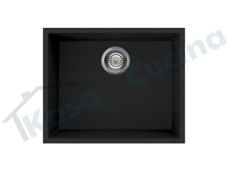 Lavello cucina quadra 105 sottotop lmq10570bso metaltek - Lavello cucina sottotop ...
