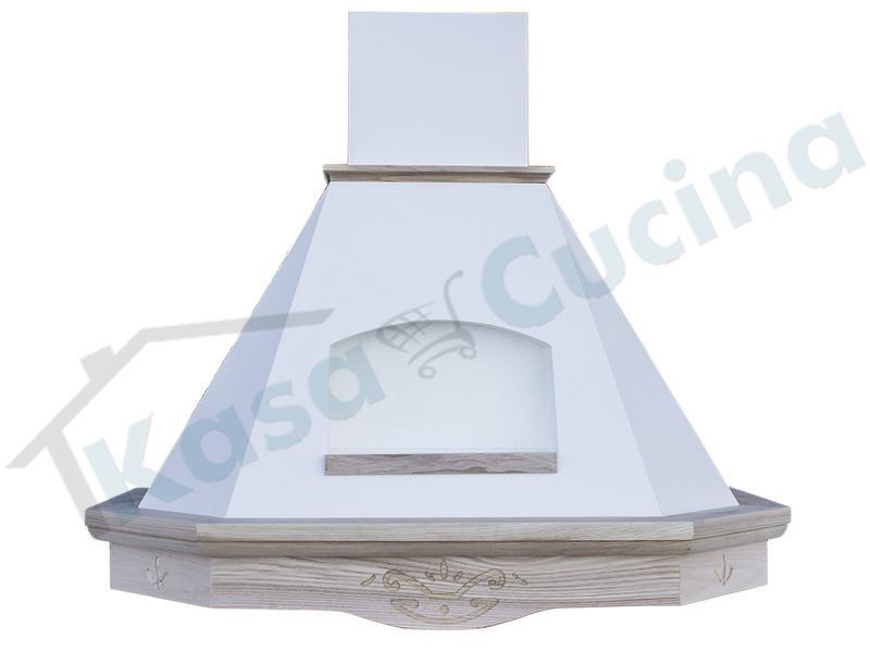 Cappa Arredamento Rustica Dolce Vita 90 Cornice Legno Grezzo